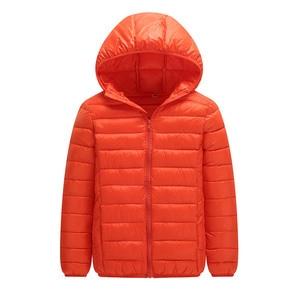 Image 4 - คุณภาพสูง 2020 ฤดูหนาวชายเสื้อลงเสื้อเด็ก Light Down Coat Hooded หญิงบาง WARM Outerwears 10 12 14 16 Y