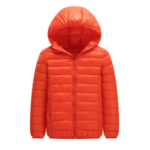 Image 4 - 高品質 2020 冬ジャケットの少年ダウンジャケット子供子供ライトアヒルダウンコートフード付き女の子薄型暖かい Outerwears 10 12 14 16 Y