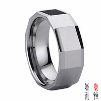 8 mm tungsten gilding the male han edition tungsten steel ring jewelry manufacturers custom engagement ring