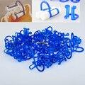 Suporte de Rolo de algodão Clipe Ferramenta de Laboratório Dental Dentes Branqueamento Produto Descartável 100 pcs/kit