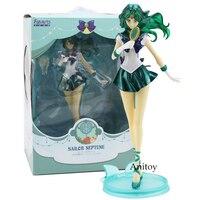 Sailor Moon Figuarts ZÉRO Sailor Neptune Kaiou Michiru PVC Figure Collection Modèle Toy 20 cm