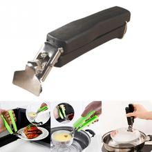 Bowl Clip Silicone-Handle Pan-Gripper-Clip Dish-Clamp Tongs Kitchen-Tool Hot Pot Retriever