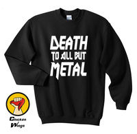 Death To All But Metal T Shirt Classic Metal Concert Tee Heavy Metal Bands Iron Maiden