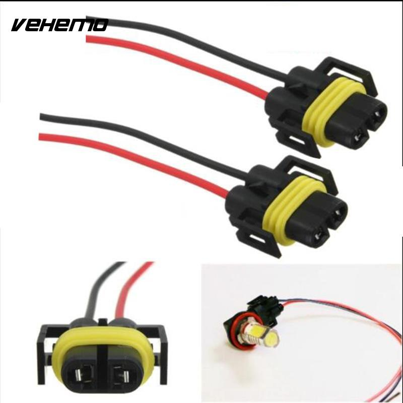 Harness-Socket Wire-Cord-Connector Waterproof Car 1pc Headlight Adapter H11 H8