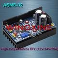 Free shipping, ASMB-02- high-torque servo controller Servo DIY/12V-48V/20A 1000N.m