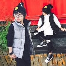 Каждый день более особенным детская одежда ma3 jia3 мальчик 2016 новая зимняя одежда Хан издание стеганые жилет прилив дети «. 85811