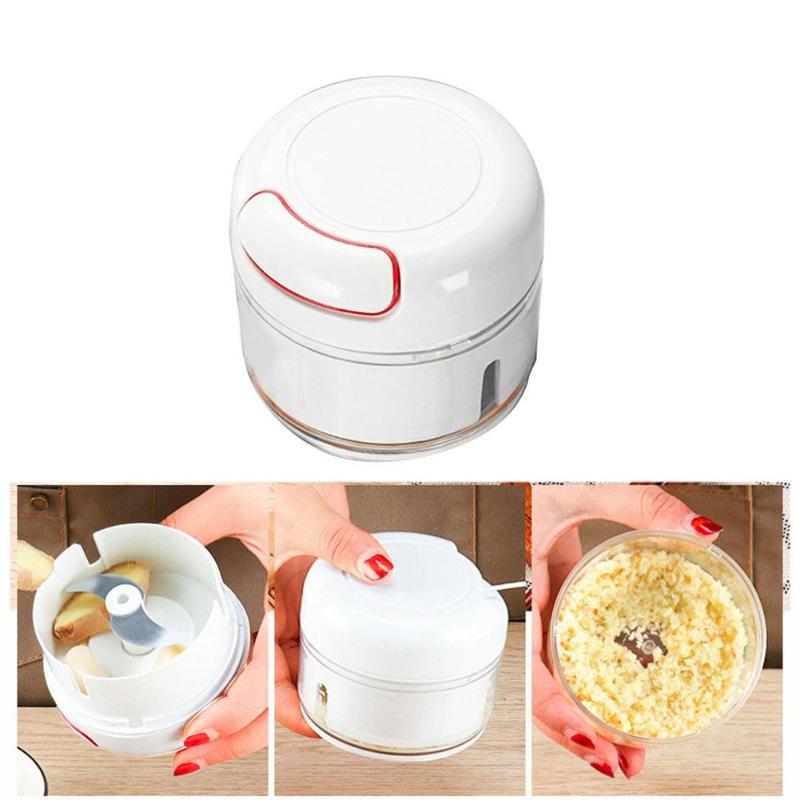 Kitchen Cutting Tool Veg Chopper Hand Pull Ginger Garlic Slicer Fruit Cutter