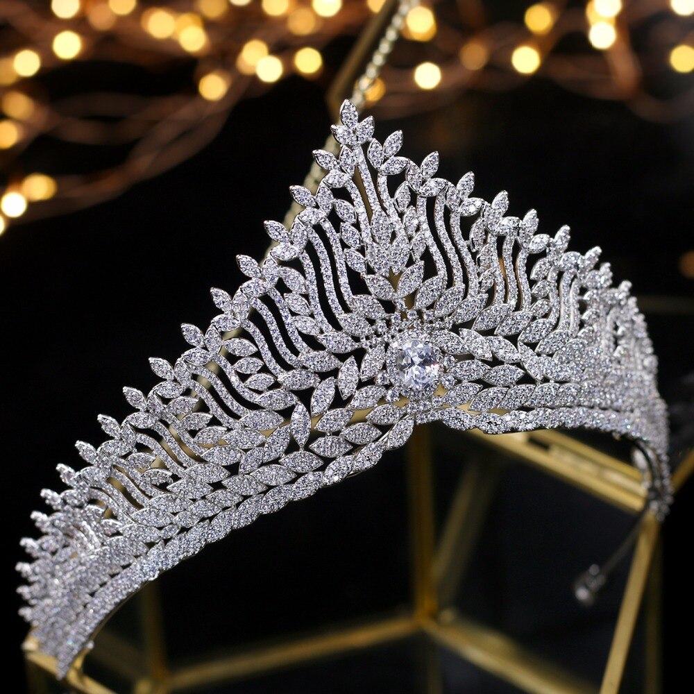 Accesorios para el cabello de novia de boda Tiaras de boda-in Joyería para el cabello from Joyería y accesorios    1
