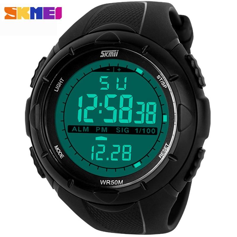 Skmei Watches Men Luxury Brand Sports Dive Digital LED Men Clock Military Watch Fashion Casual Dress