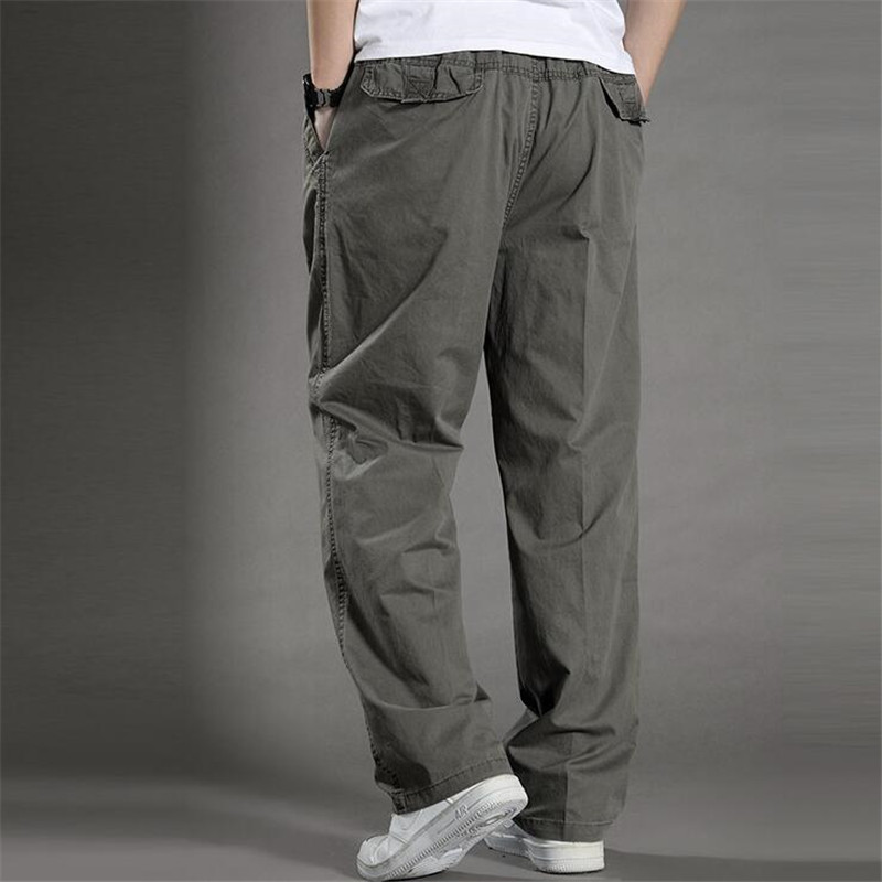 5f84dcd63ea Quality Summer Lightweight Men Cargo Pants Baggy Army Green Pant For Workman  Loose Casual Trousers Plus ...