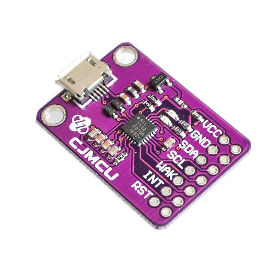 CJMCU-2112 CP2112 Bewertung kit für die CCS811 Debug-board USB zu I2C kommunikation
