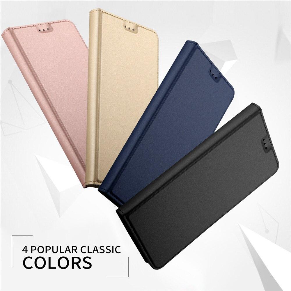 Pour ASUS Zenfone 5Z ZS620KL Cas Aikewu De Luxe Flip Portefeuille En Cuir Cas de Couverture de Livre pour ASUS Zenfone 5Z ZS620KL Funda coque Capa