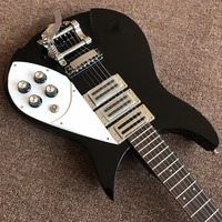 High Quality Three Pickups Black Electric Guitar Real Photos Free Shipping Promotional Activities