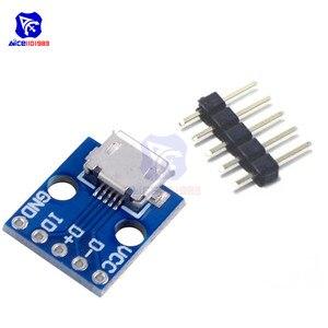 10PCS CJMCU Breakout Power Supply Module Micro USB Interface Power Adapter Board USB 5V Breakout Module(China)