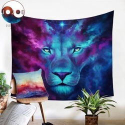 Firstborn by JoJoesArt Tapestry Wall Hanging For Adults Animal Lion Printed Tablecloth Watercolor Decorative Tapestry Bedspreads