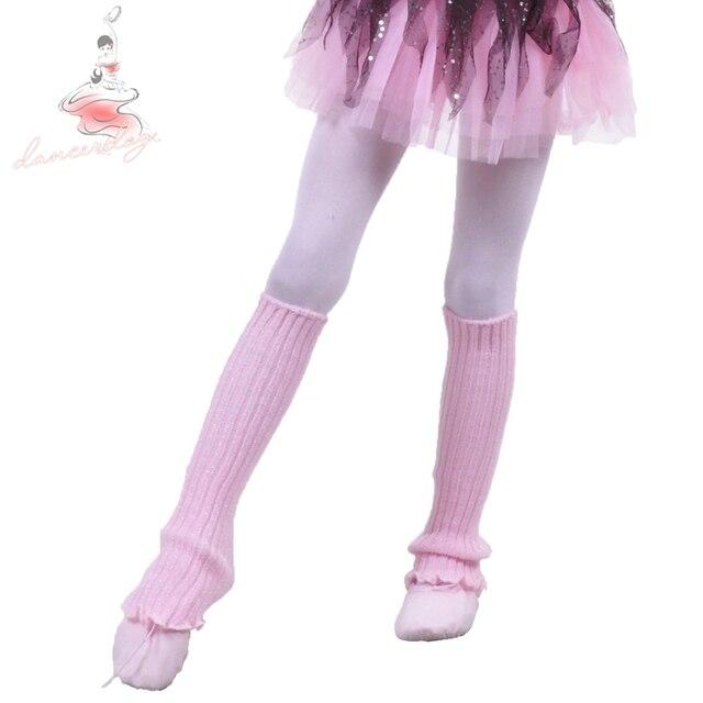 6eea2100f1 Dancerdog0361 ballet dança hip hip prática crianças polainas de lã Quente  adulto hip atropelar pés extended
