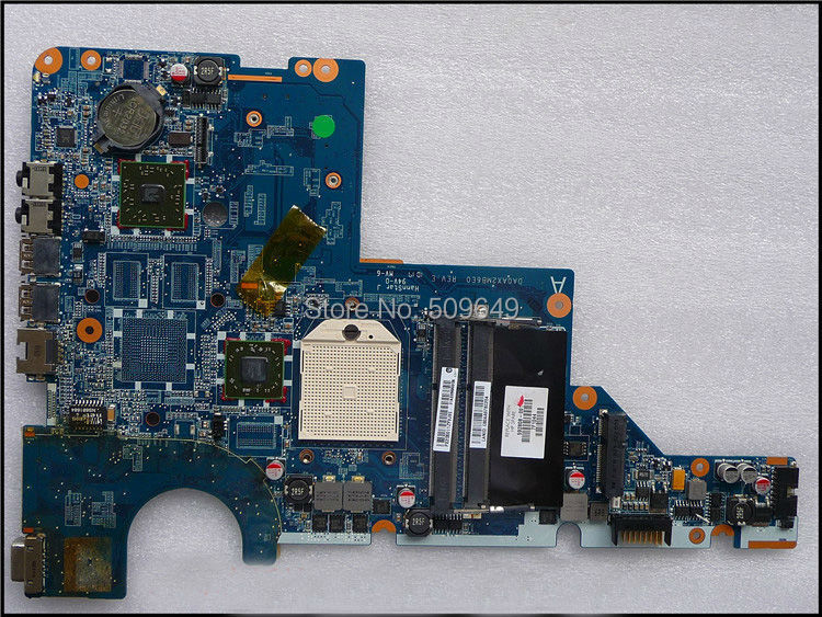 все цены на  623915-001 592808-001 For HP laptop mainboard 592808-001 CQ42 CQ62 G42 laptop motherboard,100% Tested 60 days warranty  онлайн