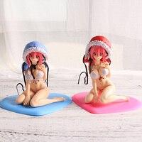 Супер Соник 13 см ПВХ торты бикини Фигурки игрушки милые Секс фигурки статуя Аниме фигурки Лучший подарок игрушки для друзей