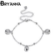 Bryanna Cute Ball Hot Summer Wedding simple Ankle Foot Jewelry pulsera ankle bracelets for women Foot anklet jewelry LKNSPCA083