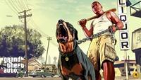 Grand Theft Auto V Art Silk Print Stof Poster Game Hot GTA 5 Beelden voor Muur Woondecoratie Canvas Poster Print 40X71 Cm