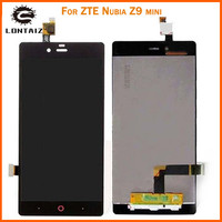 5 0 Inch Black Full LCD DIsplay Touch Screen Digitizer Assembly Replacement For ZTE Nubia Z9