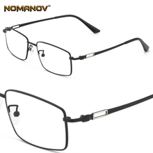 BClassic Business Vintage Mens Advanced Frame Custom Made Prescription Glasses Photochromic Grey/ Brown Myopia Near-sighted