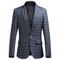 2018 New Men S Plaid Suit Jackets Large Size S M L XL 2XL 5XL 6XL