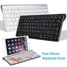 Mini Bluetooth Keyboard for Phone iPad for Smart TV Multimedia Hot Keys Wireless Keyboard for Android Tablet IOS Windows 7/8/10 недорого