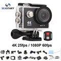 Популярные камера ЭКЕН H9/H9R дистанционного Ultra HD 4 К wi-fi 1080 P/60fps 2.0 ЖК 170D объектив Шлем Камерой gopro водонепроницаемая камера