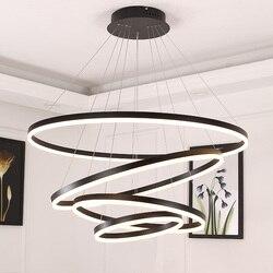 Weiß/Schwarz anhänger lichter für esszimmer schlafzimmer Smart home beleuchtung suspension leuchte lamparas de techo colgante moderna