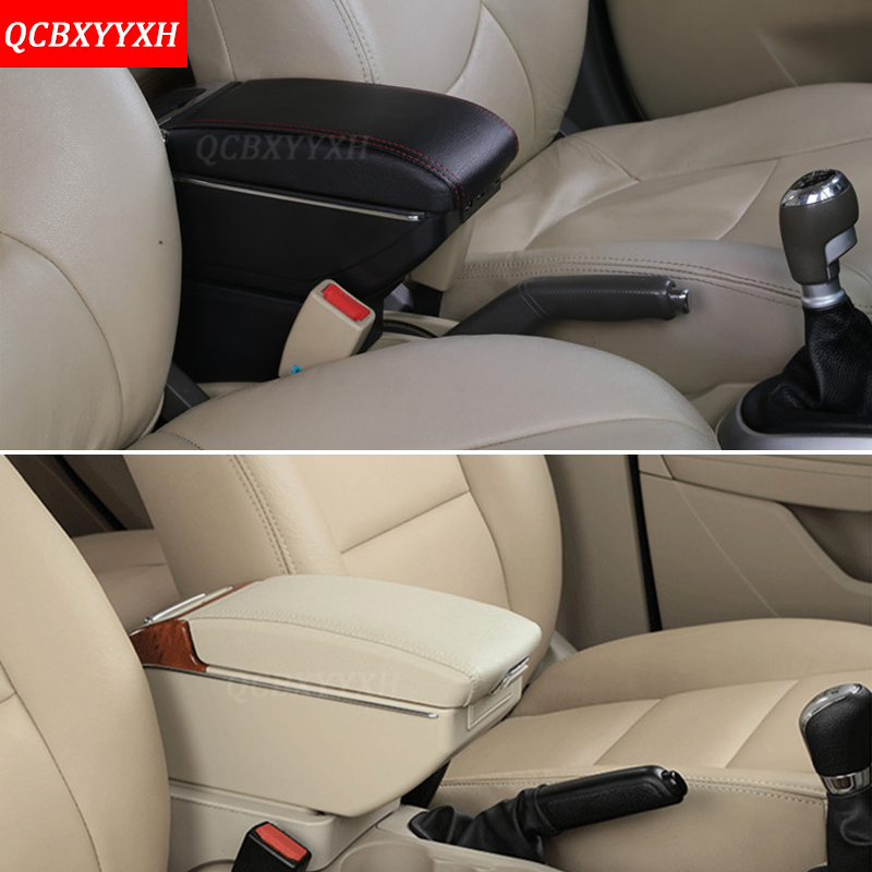 PU Leather Car Styling Auto Interior Frame Armrest Storage Box Cover Internal Decorations Stickers For Nissan Kicks 2017 2018 leather car interior parts center console armrest box for nissan kicks 2016 2017 2018 auto armrests storage with usb
