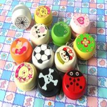 free shipping 15pcs/lot  hot sale wooden YOYO ball children toys Cartoon Kid Outdoor Toys