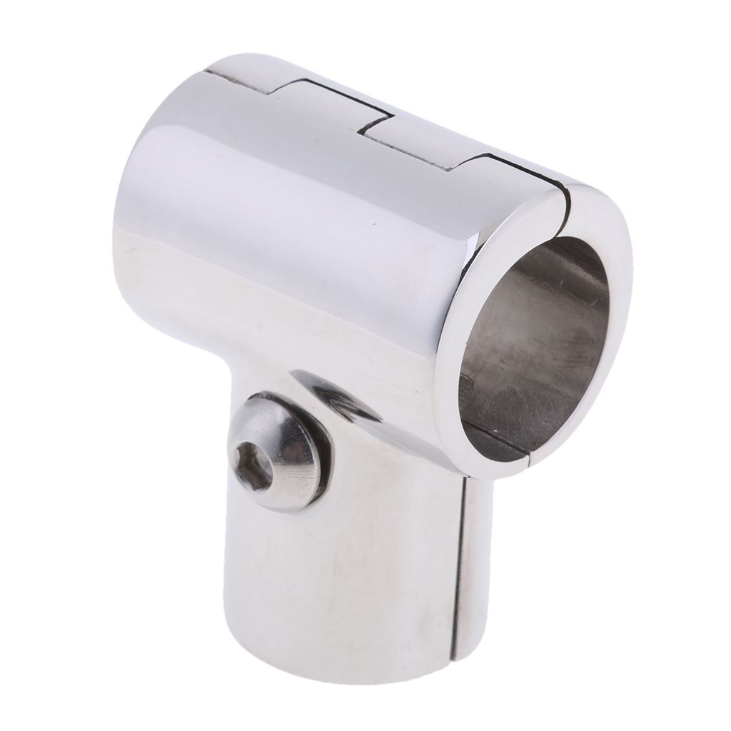 """1/"""" Pipe For Boat Hand Rail Fitting 90 Degree Elbow 316 Stainless Steel Hardware"""