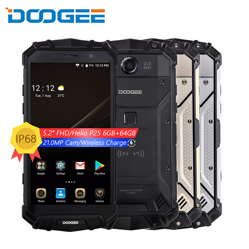 Real IP68 DOOGEE S60 Wireless Charge 5580mAh 12V2A Quick Charge 5.2&#39&#39 FHD Helio P25 Octa Core 6GB 64GB Smartphone 21.0MP CReal IP68 DOOGEE S60 Wireless Charge 5580mAh 12V2A Quick Charge 5.2&#39&#39 FHD Helio P25 Octa Core 6GB 64GB Smartphone 21.0MP C