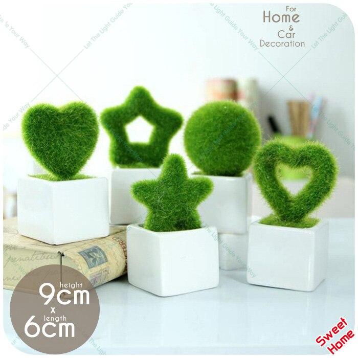 creativo decorativo moda fake flores macetas bonsai planta artificial para la boda de navidad la decoracin
