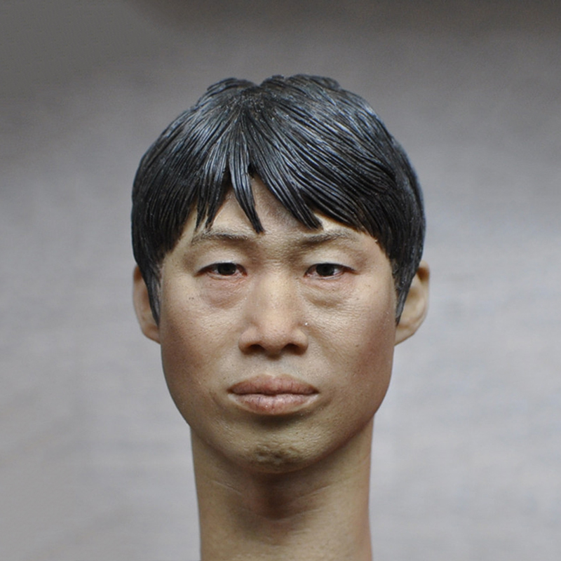 1/6 Scale Male Head Sculpt for 12 inch Action Figure 16-65 Body Accessory Realistic Facial Head Model Toys Gifts Collections popular 16 31 1 6 scale male head sculpt model toys for 12 male action figure body accessory collections freeshipping