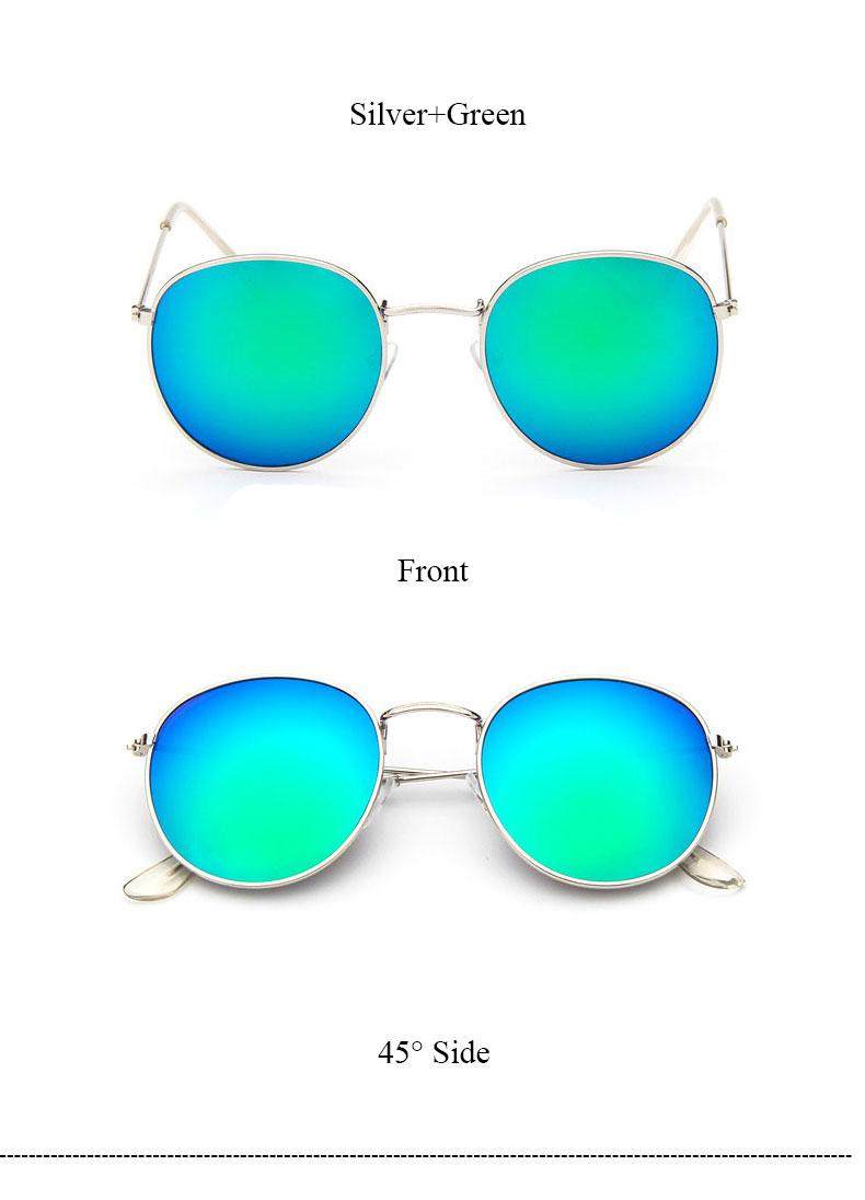 HTB1qoGxQVXXXXXBXpXXq6xXFXXXJ - Round Sunglasses Women Retro Brand Designer Classic Rose Gold Steampunk Sun Glasses Men UV400 Rayed Mirror Female UV400