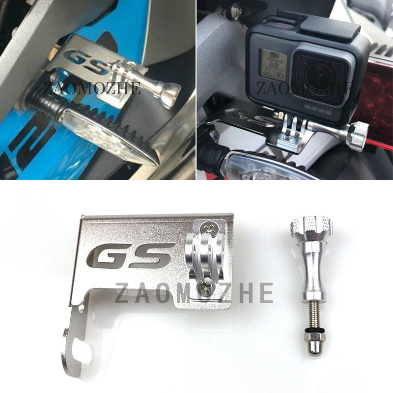 For BMW R1200GS Front Left Bracket for Go Pro R 1200GS 2013 2014 2015 2016 LC ADV 2014-2016 Motorcycle Parts