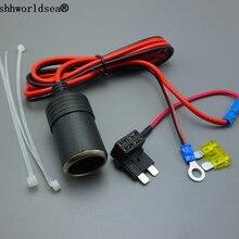 Shhworld Sea 1 компл. 1 м 1.5мм2 автомобильный прикуриватель 12 в расширение стандартный предохранитель кран держатель свинец