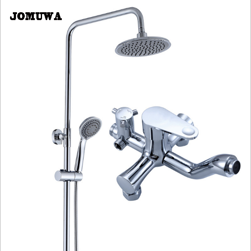 Bathtub Shower Faucet 8 Inch Rainfall Shower Head Hand