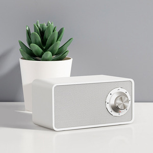 Image 4 - Xiaomi Bluetooth 5.0 Speaker White Noise Mechine Qi Wireless Charger Wireless Speaker With Mic For iPhone XS/X/8/7/6 Huawei