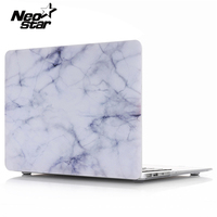 Full Body Logo Marble Texture Case Cover For Macbook Air Pro Retina 11 12 13 15