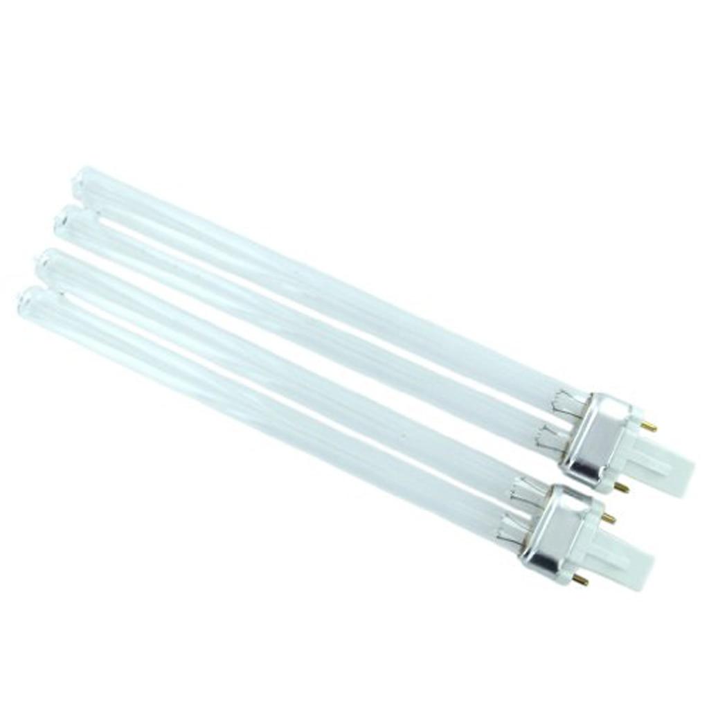 UVC Bi-pin SODIAL(R)2pcs 11W Base G23 Bulb Light UV Sterilizer UV Lamp Clarifiers for Aquarium kitchen bathroom restaurant