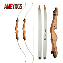 1set 68inch Archery 16-38lbs Recurve Bow Youth Training Traditional Wooden Hunting For Right Hand Shooting Accessories