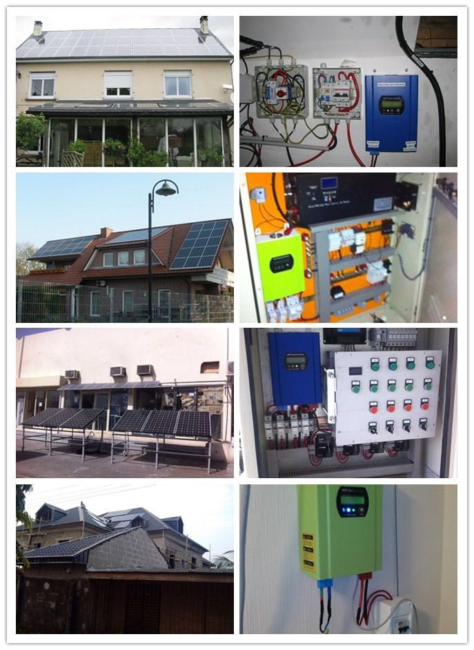 Stock Brandnew MPPT Solar Regulator 50A, 48V 50A solar charge controller DC 12V 24V 48V  50A MPPT Solar Controller ,SMART1 50A cheap saipwell high power solar charge controller 12v 50a smg50