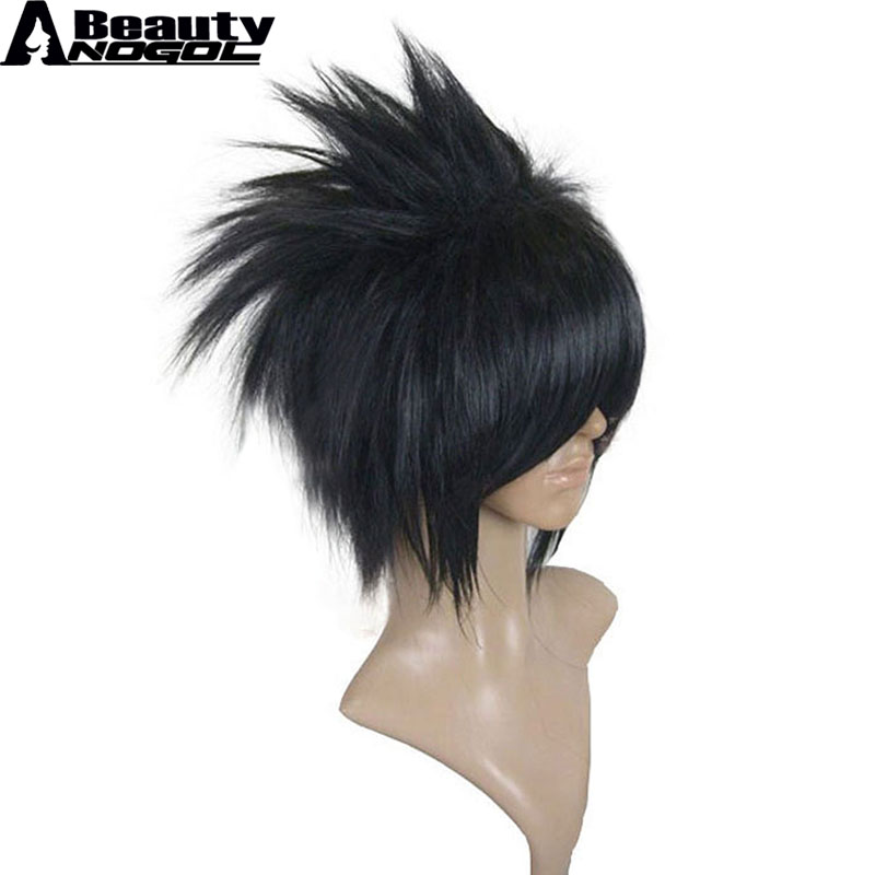 Novelty & Special Use Anime Naruto Uchiha Sasuke Wig Cosplay Costume Men Black Short Synthetic Hair Halloween Party Wigs By Scientific Process Costumes & Accessories