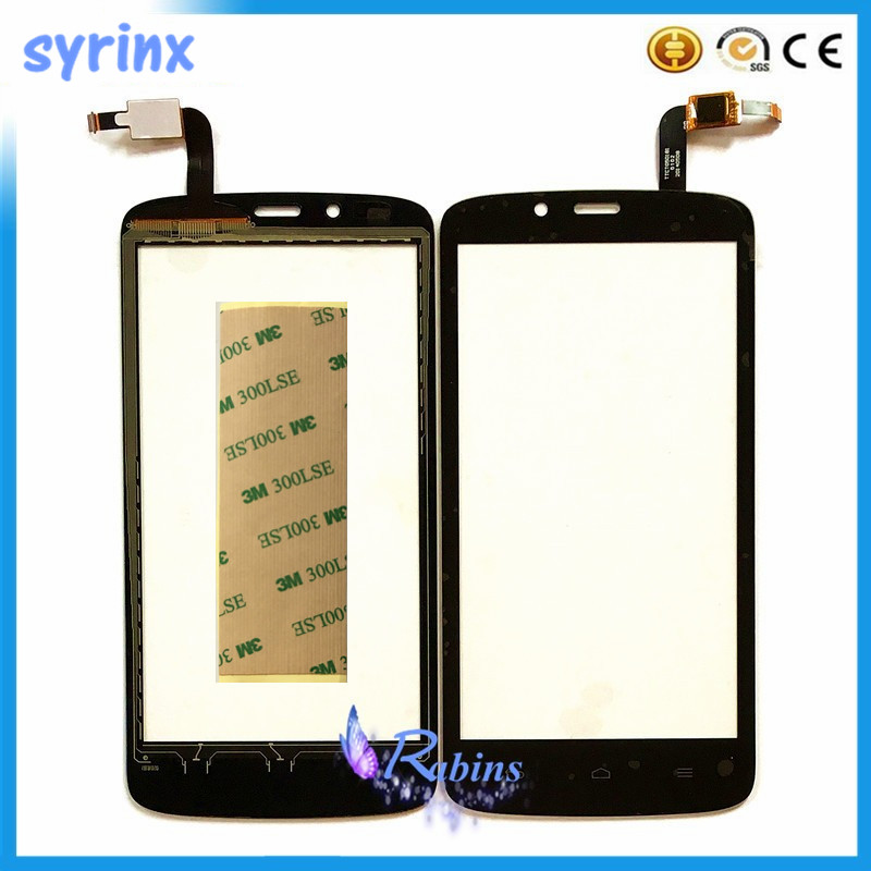 3m tape Front Glass Lens Sensor For HuaWei honor holly hol U19 3C Line Touch Screen Digitizer Panel Touchscreen
