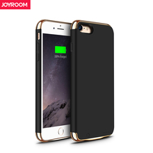 Joyroom External Battery Charger Case For iPhone 7 plus 3500 mAh Portable Power Bank Pack Backup Battery Case Cover