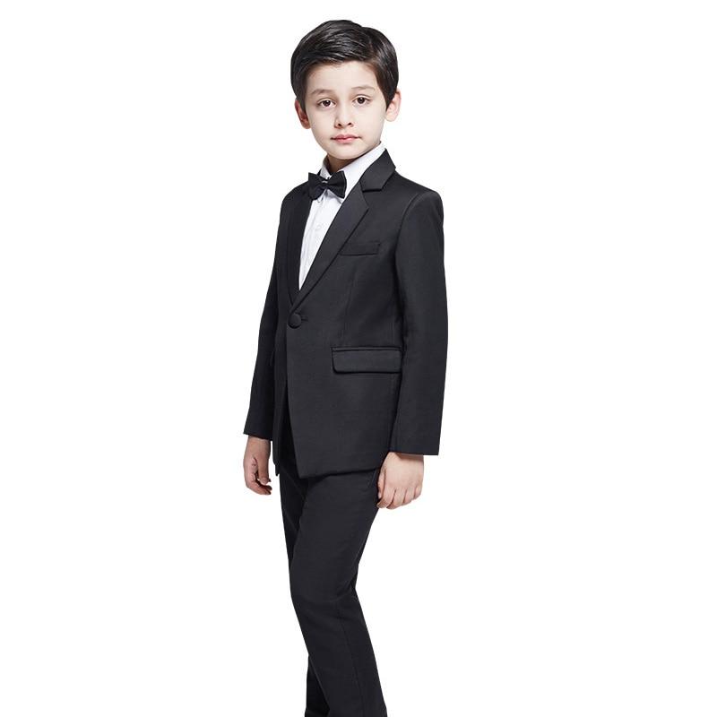 Children Black Formal Boys Suits Boy Blazer Suit Mariages/Perform Dress Costume Infants Blazer 4 pcs/setChildren Black Formal Boys Suits Boy Blazer Suit Mariages/Perform Dress Costume Infants Blazer 4 pcs/set