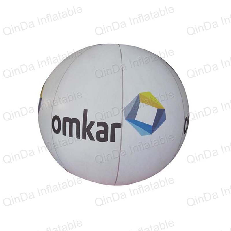 Giant White Balloons Floating Inflatable Helium Balloon For Advertisement With Logo For Exhibition Promotion ao058b 2m white pvc helium balioon inflatable sphere sky balloon for sale attractive inflatable funny helium printing air ball